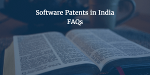 What are the examples of software patents in India?