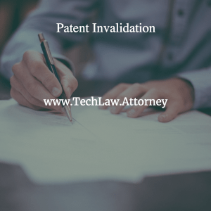 How to Perform Patent Invalidity Search