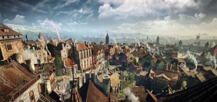 Teeming metropolis hubs in The Witcher 3