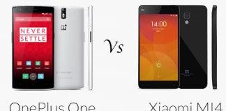 xiaomi mi4 vs One Plus One
