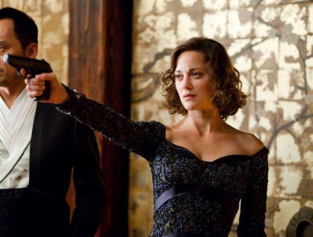 Cotillard as Miranda Tate a.k.a Talia' al Ghul in The Dark Knight Rises