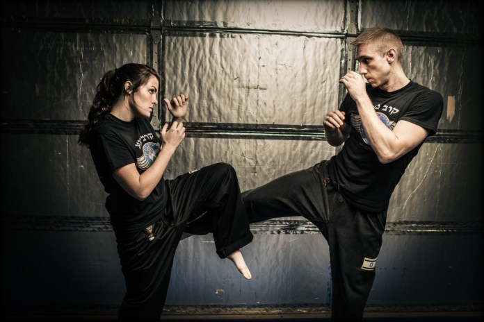 Being active I practice Krav Maga