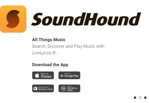 soundhound - identify song - what song is this