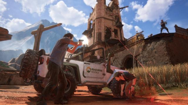 New Uncharted 4 Screenshots Will Really Tempt You To Buy A PS4 7