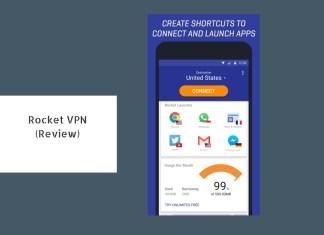 rocket vpn review