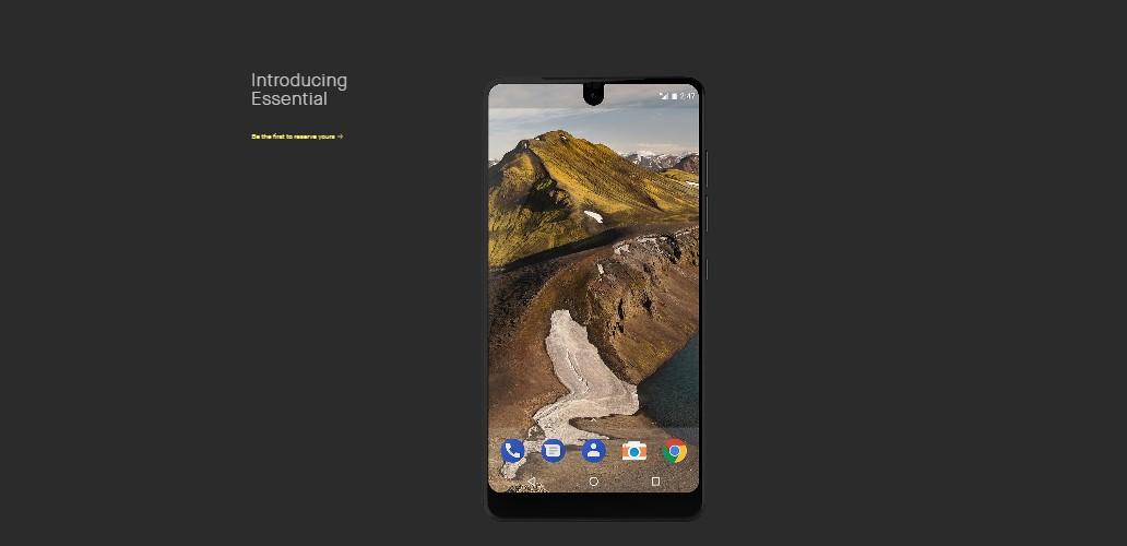 essential smartphone