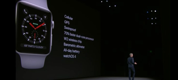 The Apple Watch Series 3 Will Come With Cellular Connectivity 1