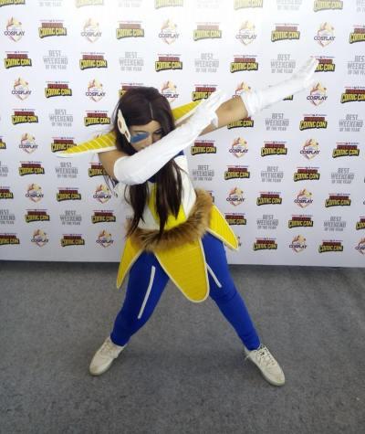 Shariyari Aorin (Vegeta Cosplay)