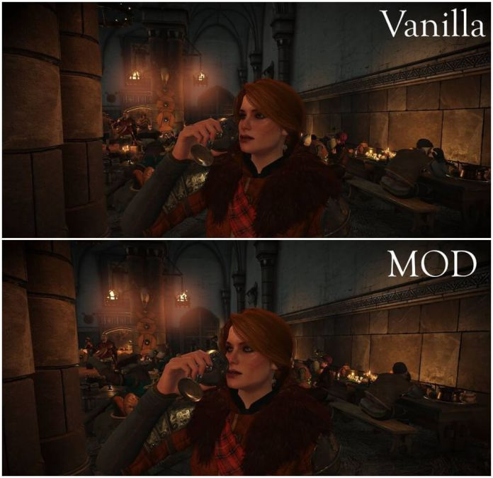 high quality face mod witcher 3