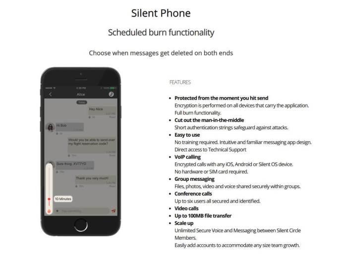 secure smartphone