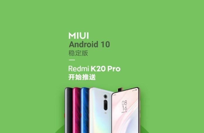 Miui Android 10 K20 China