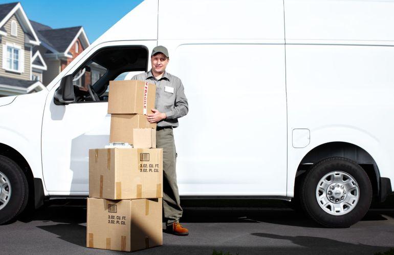 16336223 - delivery postal service man