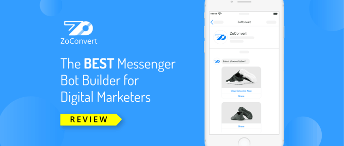 ZoConvert Review: Best Facebook Messenger Marketing Platform