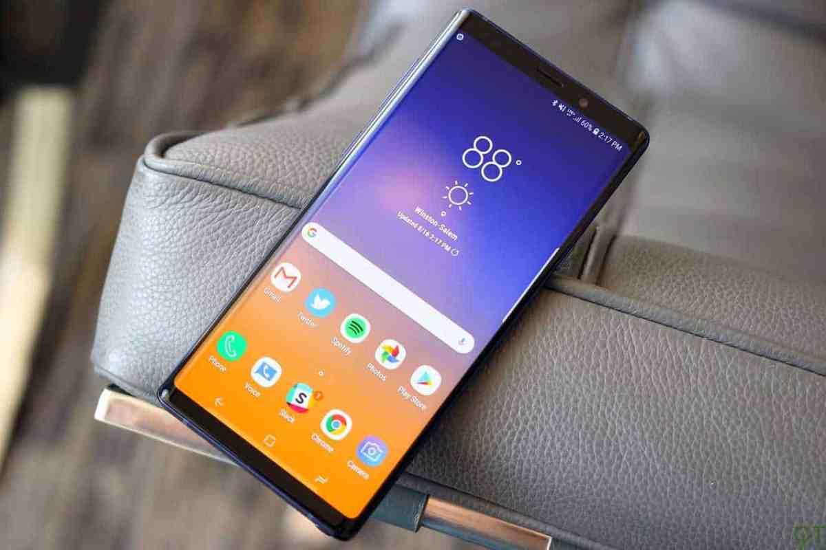 Galaxy Note 9 Display