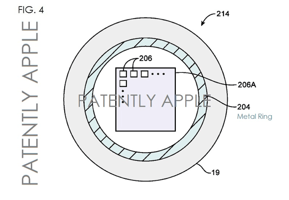 Apple Homebutton Patent