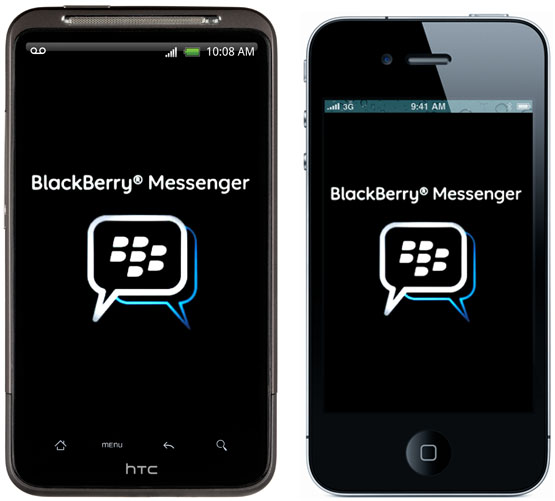 BlackBerry Messenger iPhone
