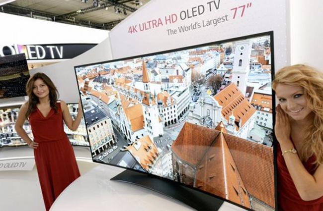 LG 4K ULTRA HD OLED TV