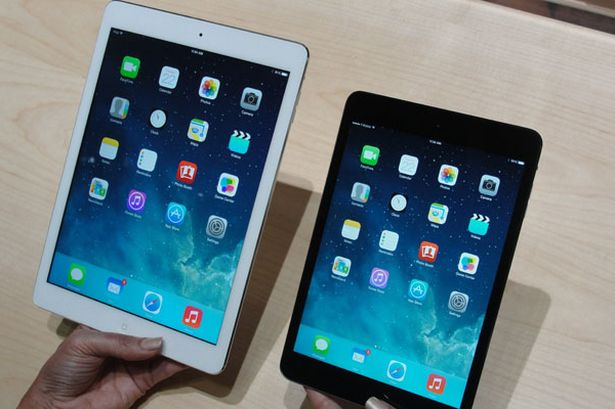 iPad Air - iPad mini 2