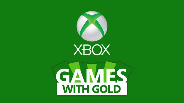Xbox Live Games with Gold mei