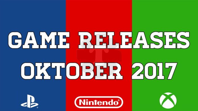 Game releases oktober 2017