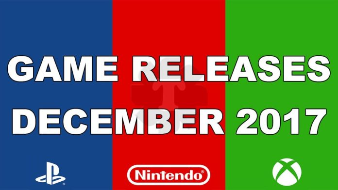 Game releases december 2017