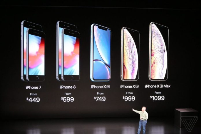 iPhone 2018 line-up