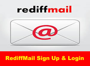 Create Rediff Mail account