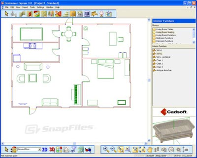 envisioneer express free home design software House Design Software