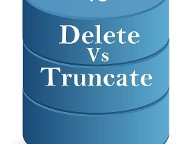 sql delete vs truncate Difference between Delete and Truncate Command SQL Important Differences