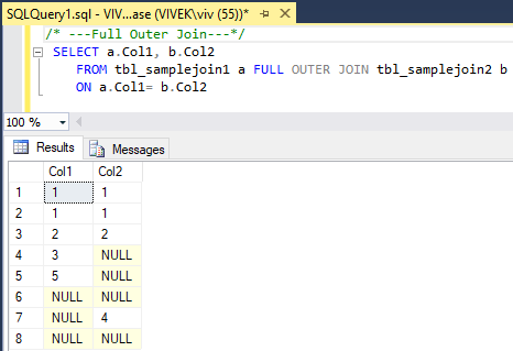 FullOuterJoin 3 SQL Joins Tricky Interview Questions