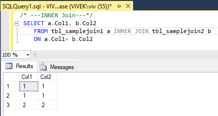 InnerJoin 4 SQL Joins Tricky Interview Questions
