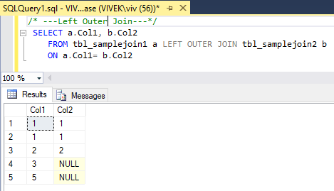 LeftOuterJoin 1 SQL Joins Tricky Interview Questions