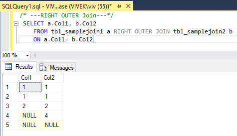 RightOuterJoin 4 SQL Joins Tricky Interview Questions