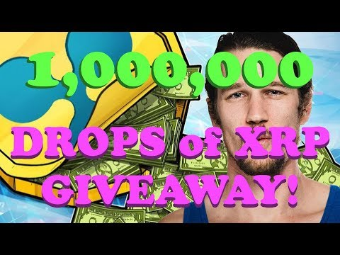 XRP 1,000,000 Drop GIVEAWAY~! - Crypto Bitcoin Ether XRP ...