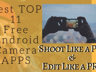 best free android Camera APPS