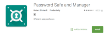 PasswordSafe-manager-android-app