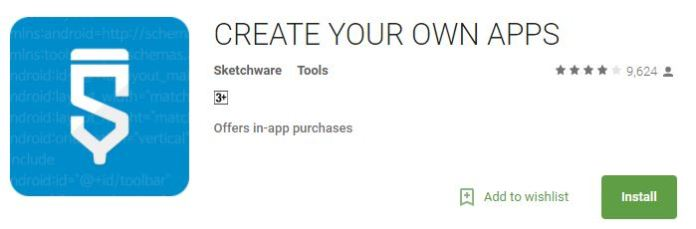 create your own apps - free android maker apps
