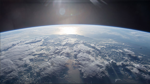 View from the International Space Station, Expedition 45, 2015.