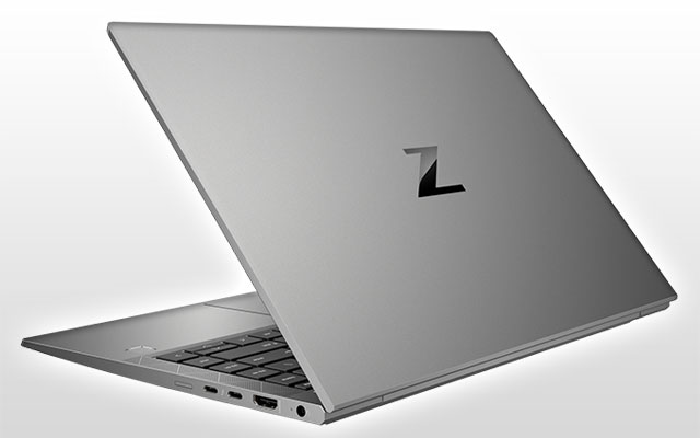 HP ZBook Firefly 14 G7 Mobile Workstation, back view