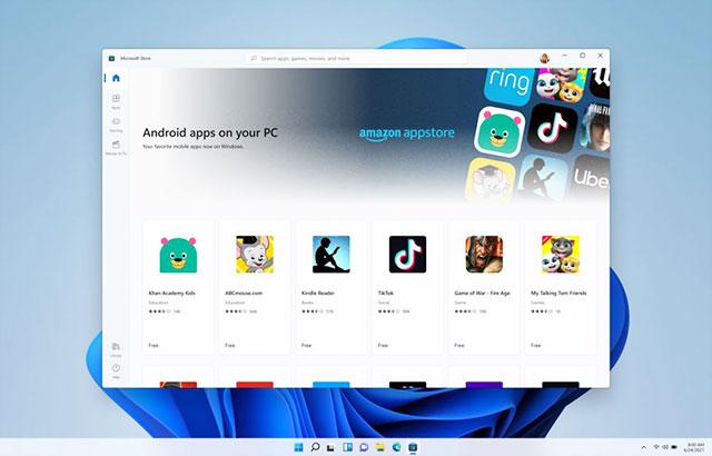 Windows 11 Amazon Appstore