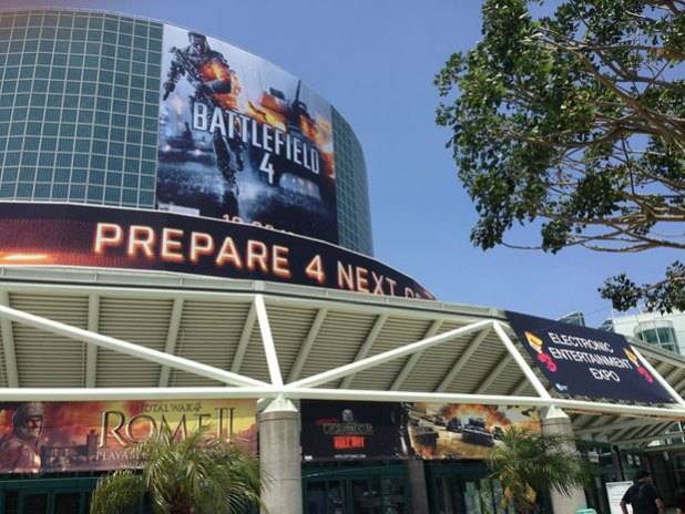 The E3 show in Los Angeles was the backdrop for Microsoft's Monday game announcements.