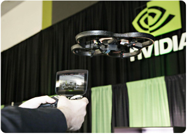 Nvidia Shield controlling AR Drone