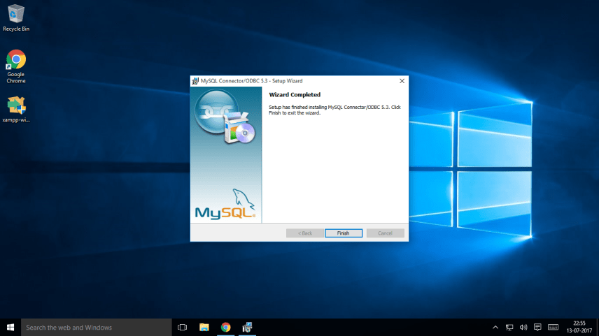 Mysql connector odbc install5