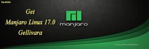 Get Manjaro Linux 17.0 Gellivara DVD ISO Images