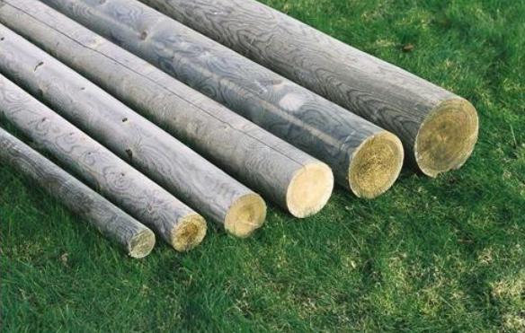 rondin bois en pin devis sur techni