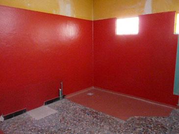 mural pour toilettes publiques