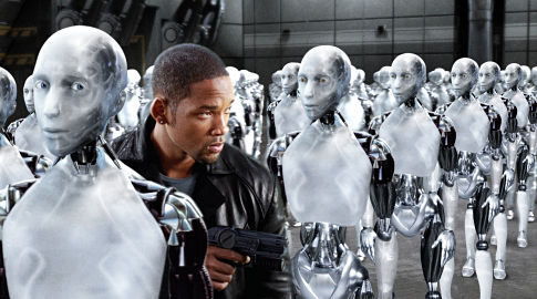 i Robot: This movie was definitely about a DDOS