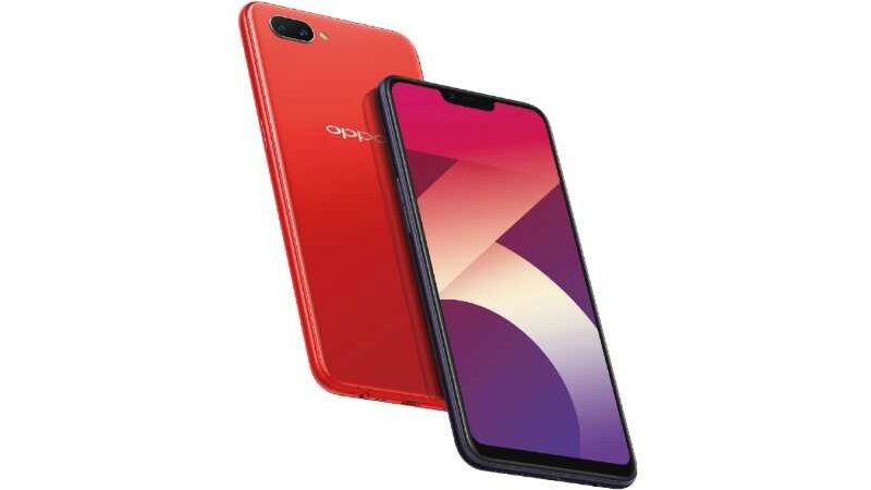 Oppo A3s with iPhone X like notch and Snapdragon 450 coming to Indian market soon.