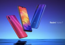 redmi note 7 colours