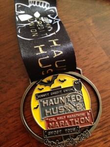 Haunted Hustle Medal